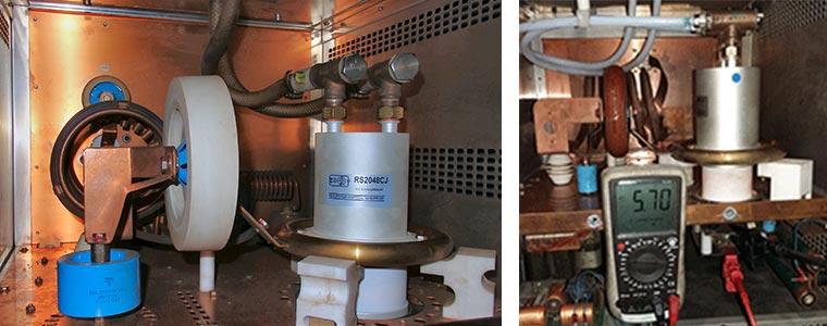 Einbau Senderöhren