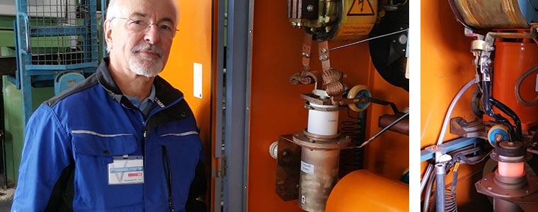 Service Einsatz an HWG - Huettinger HF-Generatoren für Härterei