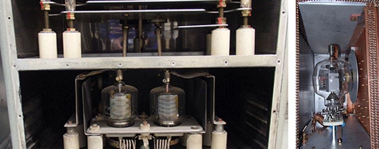 Service Einsatz an Herfurth HF-Generatoren für Kunststoffschweissen