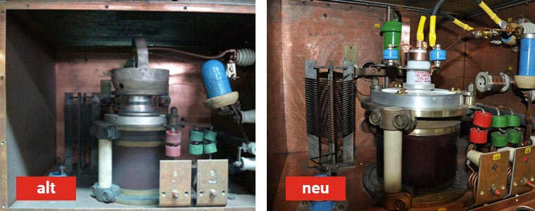Umrüstung an Kiefel - Körting HF-Generator Fixus G6000Sb